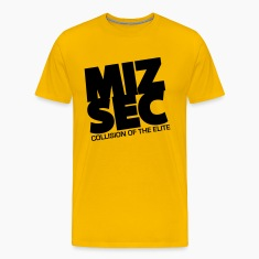 MIZSEC - GOlD SHIRT