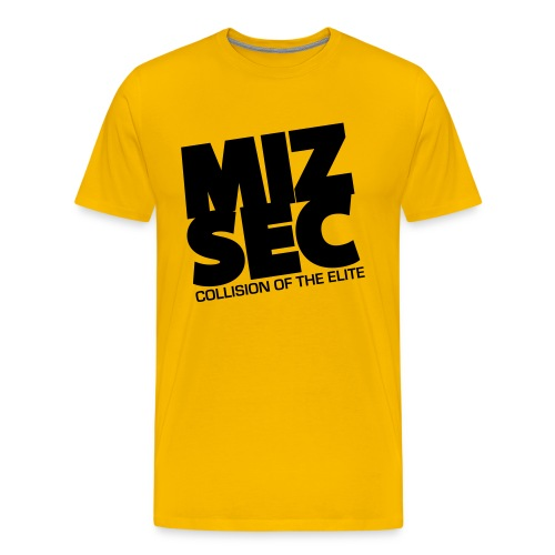 MIZSEC - GOlD SHIRT - Men's Premium T-Shirt