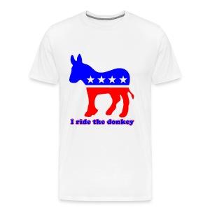 Ride the Donkey - Men's Premium T-Shirt
