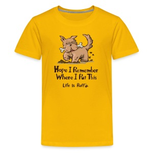 Remember - Kids' Premium T-Shirt