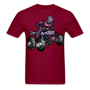 Men's T-Shirt - Express your drive for the offroad with this cool ATV design. At Off-Road Styles we also have quads, motorbikes, dirt bikes, UTVs, 4x4 trucks, race trucks, dune buggy designs and more.