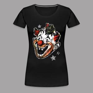 Retro Clown Mask Women's T Shirt - Women's Premium T-Shirt