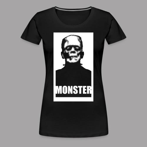 The Monster Halloween Horror Women's T Shirt - Women's Premium T-Shirt