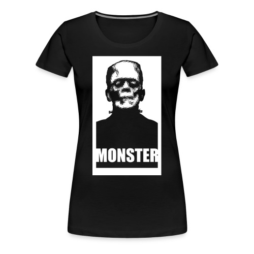 The Monster Halloween Horror Women's T Shirt - Women's Premium T-Shirt