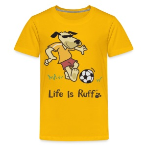 Soccer Dog - Kids' Premium T-Shirt