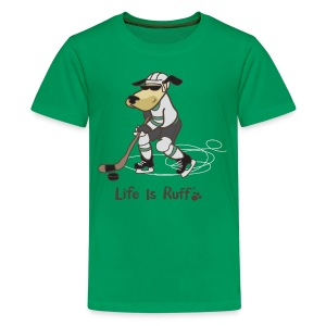 Hockey Dog - Kids' Premium T-Shirt