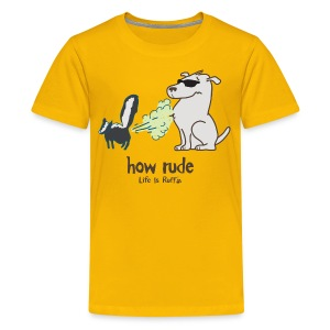 How Rude - Kids' Premium T-Shirt