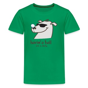 Doggie golf Ball - Kids' Premium T-Shirt