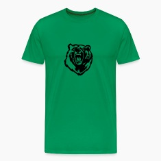 Grizzly Bear VECTOR T-Shirts