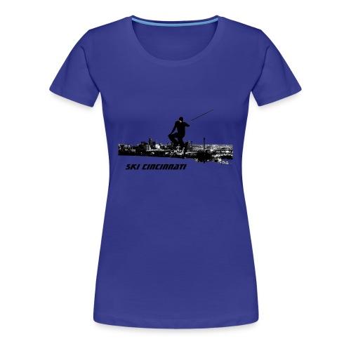Ski Cincinnati Women's T - Women's Premium T-Shirt