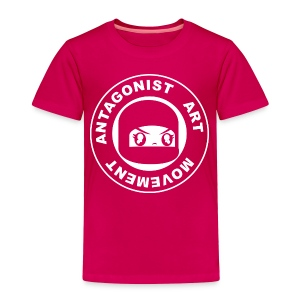 Antagonist logo by Un Lee - Toddler Premium T-Shirt