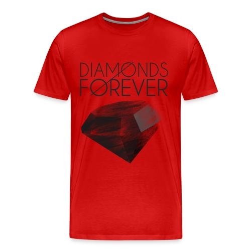 Diamonds Are FOREVER!!  - Men's Premium T-Shirt