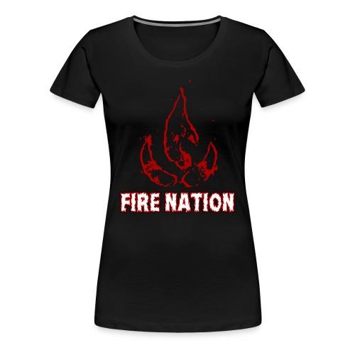AVATAR LOK - FIRE NATION - Women's Premium T-Shirt