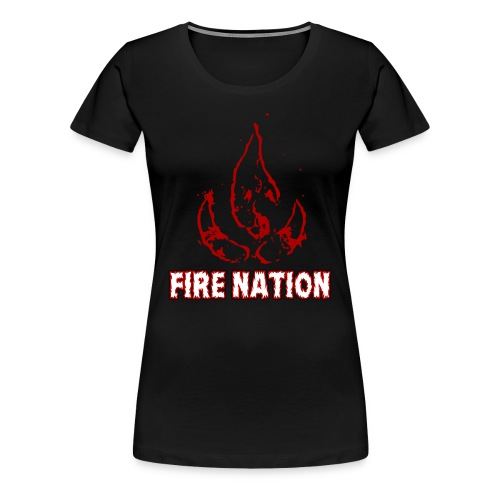 AVATAR LOK - FIRE NATION - Women's Premium T-Shirt