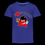 Kids' Shirts ~ Kids' Premium T-Shirt ~ I Love Football. TM  Kids Shirt