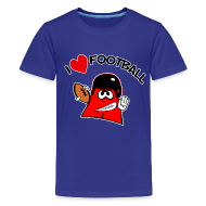 Kids' Shirts ~ Kids' Premium T-Shirt ~ I Love Football. TM  Kids Shirt