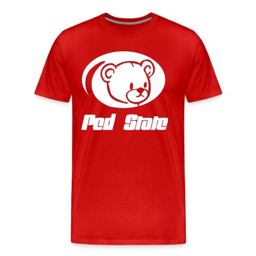 Nebraska. Ped State - Men's Premium T-Shirt