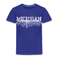 Baby & Toddler Shirts ~ Toddler Premium T-Shirt ~ My Michigan Roots