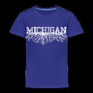 Baby & Toddler Shirts ~ Toddler Premium T-Shirt ~ My Michigan Roots