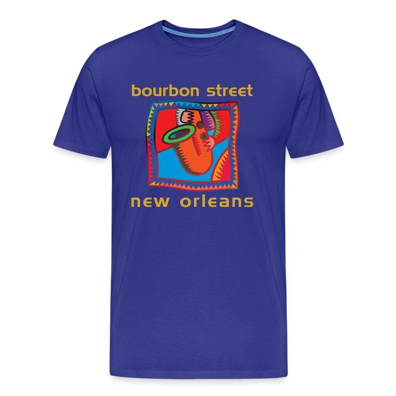 bourbon street new orleans t shirt spreadshirt