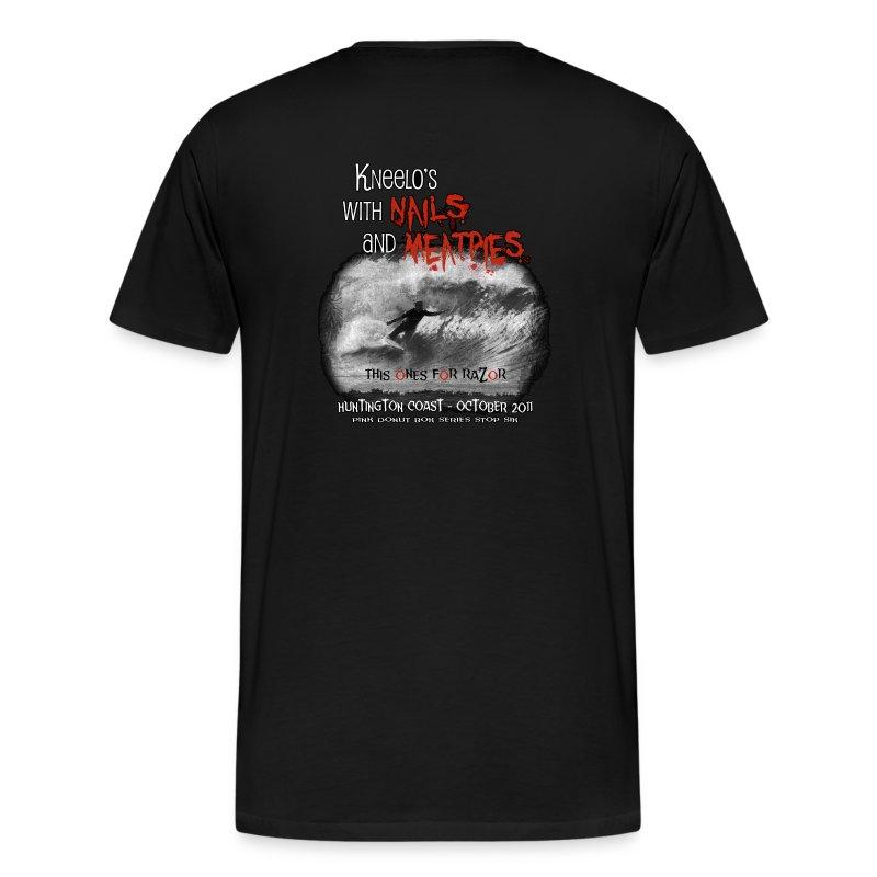 Fall 2011:    Nails & Meatpies - Men's Premium T-Shirt