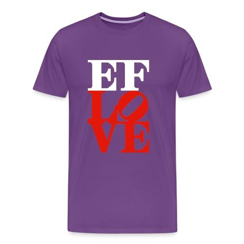 EF-LOVE -HEAVYWEIGHT- PICK YOUR COLOR!! - Men's Premium T-Shirt
