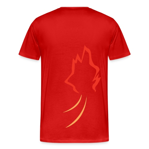 Char-Back (Men) - Men's Premium T-Shirt