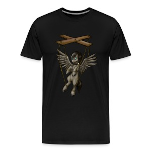 The Puppet [Plus Size] - Men's Premium T-Shirt