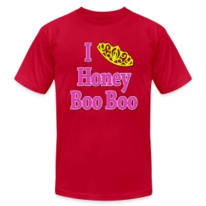 I Love Honey Boo Boo - Men's T-Shirt by American Apparel