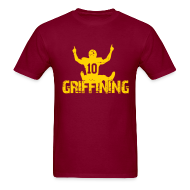 T-Shirts ~ Men's T-Shirt ~ Griffining Shirt on Red