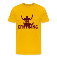 T-Shirts ~ Men's Premium T-Shirt ~ Griffining Shirt on Gold