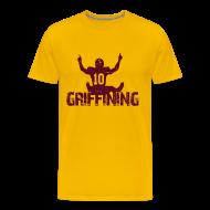 T-Shirts ~ Men's Premium T-Shirt ~ Griffining Shirt on Gold