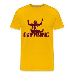 Griffining Shirt on Gold - Men's Premium T-Shirt