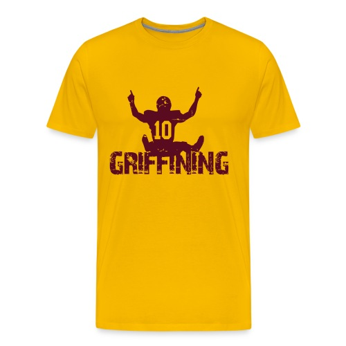 Griffining Shirt on Gold - Men's Premium T-Shirt