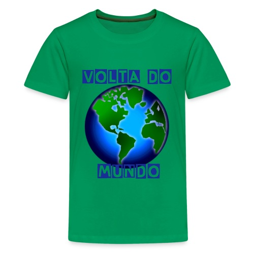 Volta do Mundo - Kids' Premium T-Shirt