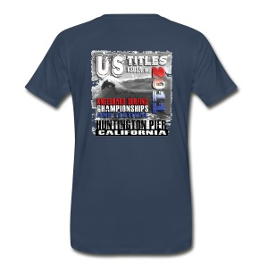2011 Huntington Championships - Men's Premium T-Shirt
