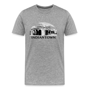 Indiantown White T-Shirt  - Men's Premium T-Shirt