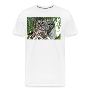 Barred Couple 2299  - Men's Premium T-Shirt