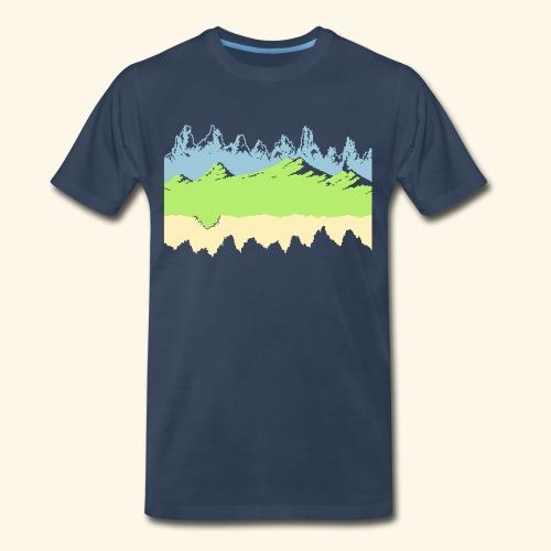 Moon - Men's Premium T-Shirt