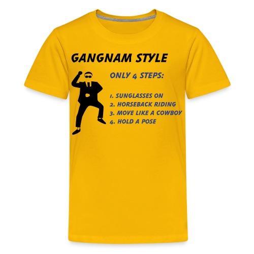 Gangnam Style Shirt Kids - Kids' Premium T-Shirt