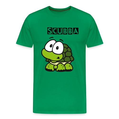 Scubba Turtle  - Men's Premium T-Shirt