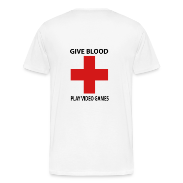 Give Blood Play Video Games Shirt