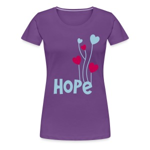 Love & Hope!  - Women's Premium T-Shirt