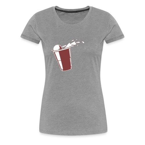Beer Pong?  - Women's Premium T-Shirt