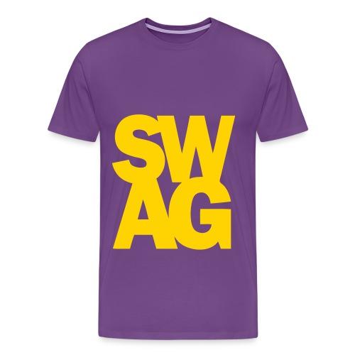 Purple Swag Tee - Men's Premium T-Shirt