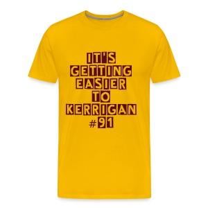 Redskins Kerrigan Gold T Shirt - Men's Premium T-Shirt