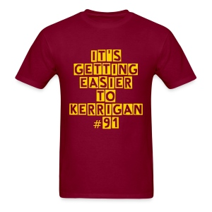 Redskins Kerrigan Burgundy T Shirt - Men's T-Shirt