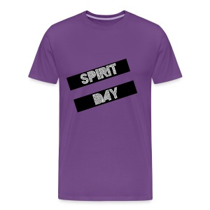 #SpiritDay Equal Sign - Men's T-shirt - Men's Premium T-Shirt