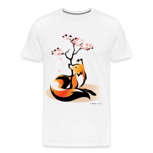 Sakura Kitsune - Men's Premium T-Shirt