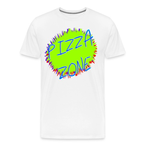 PIZZA ZONE 90'S T-SHIRT - Men's Premium T-Shirt